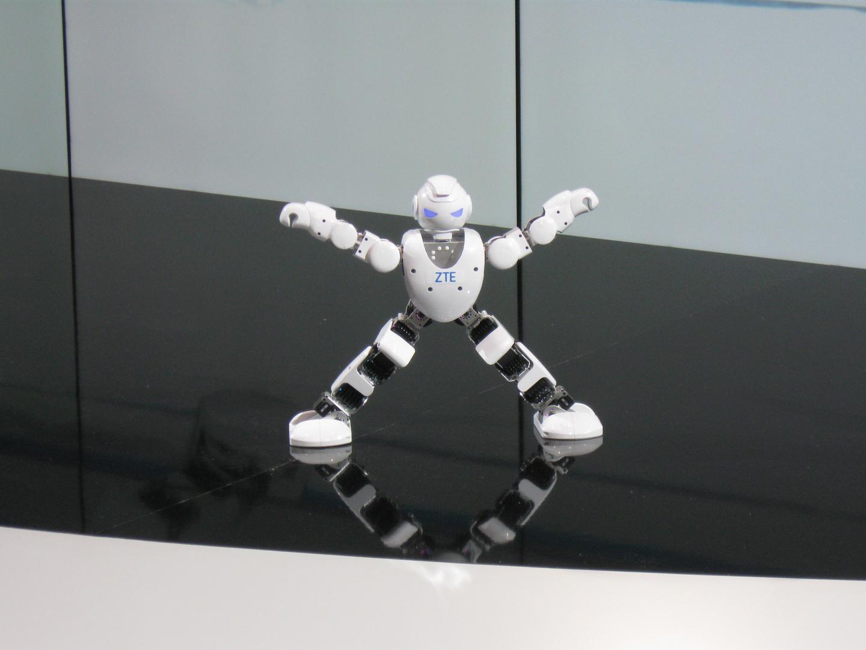 Tanzende Roboter
