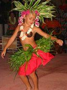 Tanzendes Mädchen (Raiatea/Südsee)