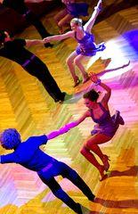 Tanzschule Streng Fürth - Lateinformation B (2)