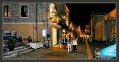 Taormina, Abendspaziergang