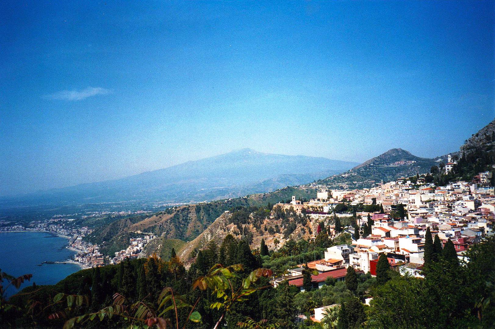 TAORMINA & MOUNT ETNA - SICILIA