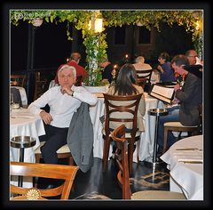 Taormina Sizilien, Dinner for one