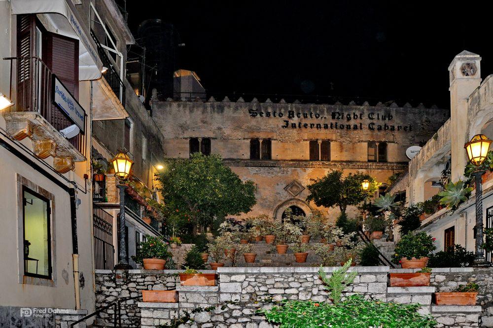 Taormina Sizilien, Night Club Sesto Acuto