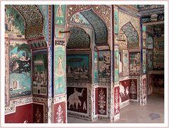 Taragarh Wandmalereien
