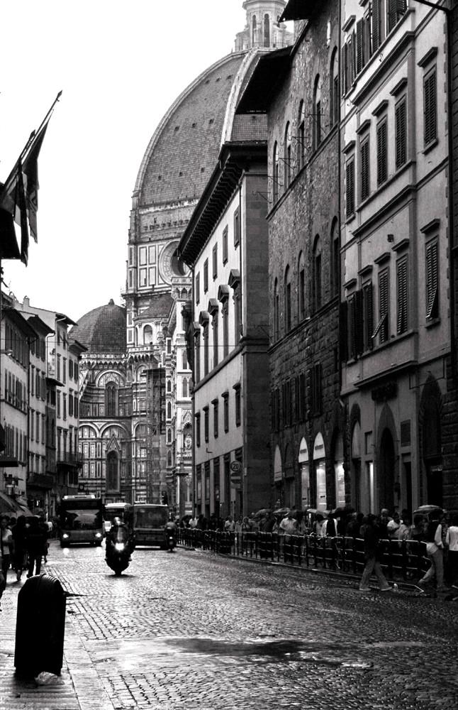 .. Tarde de lluvia en Firenze ...
