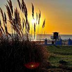 Tarifa (E) Sundown Sonnenuntergang, puesta del sol