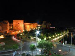 Tarragona (Spanien) bei Nacht