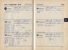 Taschenbuchauszug Mai 1979