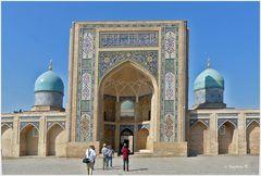 Taschkent - Barak-Khan-Medrese - Haupteingang