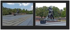 Taschkent - Denkmal als Erinnerung an das Erdbeben vom 26. April 1966