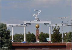 Taschkent - Denkmal der weinenden Mutter