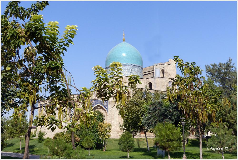 Taschkent - Kaffal Schaschi-Mausoleum