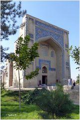 Taschkent - Kaffal Schaschi-Mausoleum - Seitenansicht