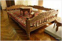 Taschkent - Museum für angewande Kunst - repräsentativer Sitz