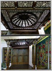 Taschkent - Museum für angewandte Kunst - Bett