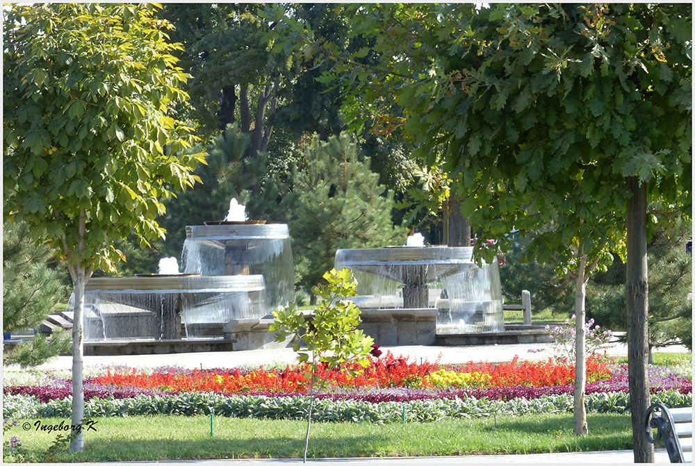 Taschkent - Parkanlage im Zentrum