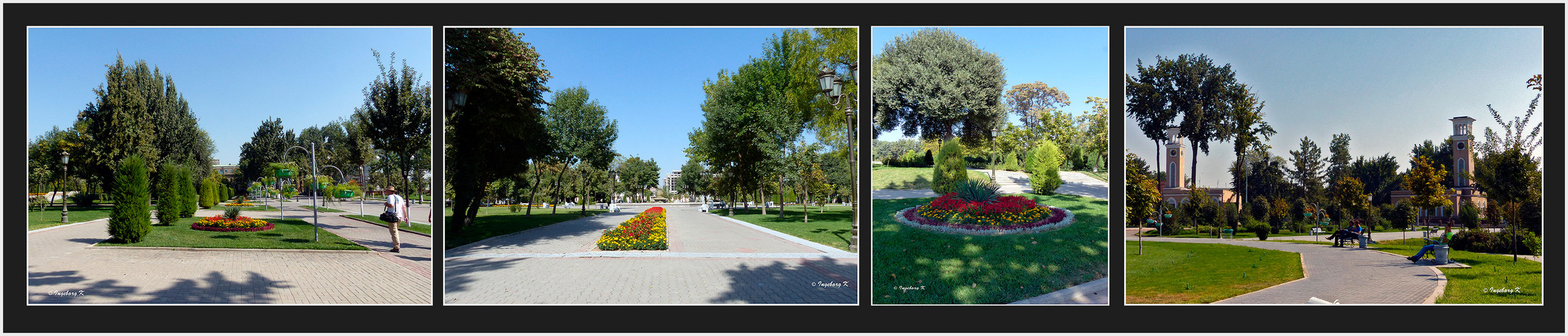 Taschkent - Parkanlagen in der Innenstadt