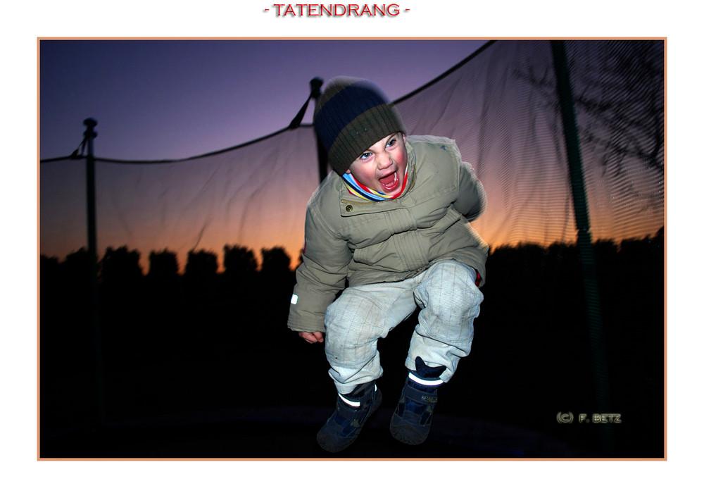 *Tatendrang*