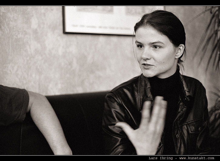 Tatjana ... und ihre Hand