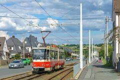 Tatrazug der Plauener Straßenbahn Betriebe