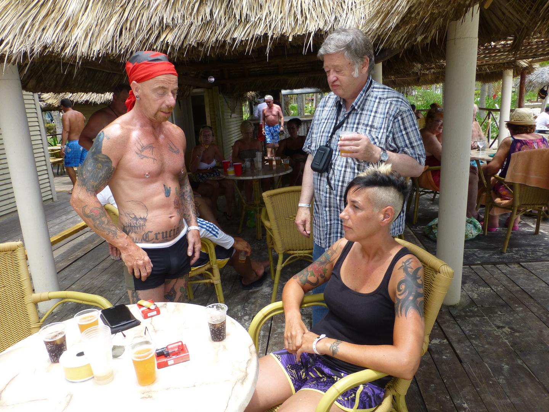 Tattoo auf Cayo Coco III