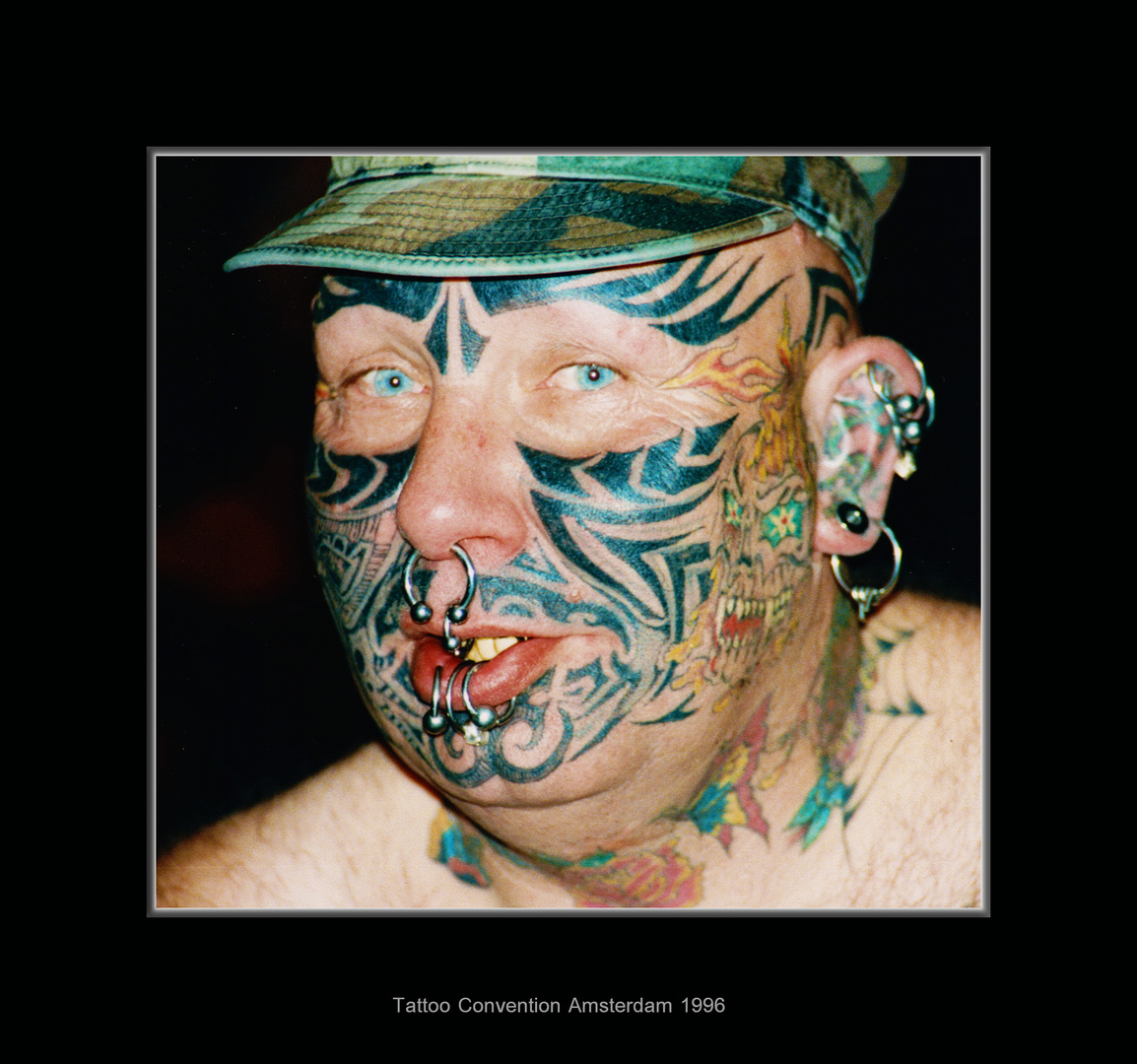 Tattoo Convention Amsterdam 1996