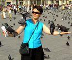 Taubenfrau - doch keine Kolibri`s !