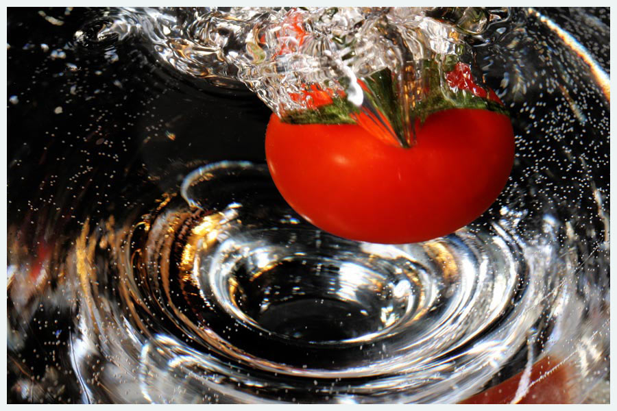Tauch-Tomate