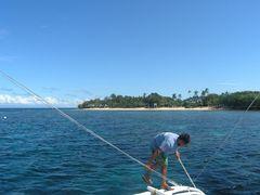 Tauchen vor Cabilao Island