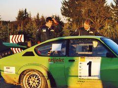 Taunus-Rallye 2008: Die Nr. 1 auf 3 Räder und ratlos...