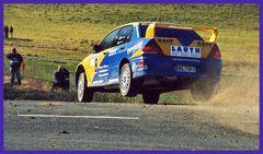 Taunus-Rallye 2008: Kurz vor dem Ausfall ...