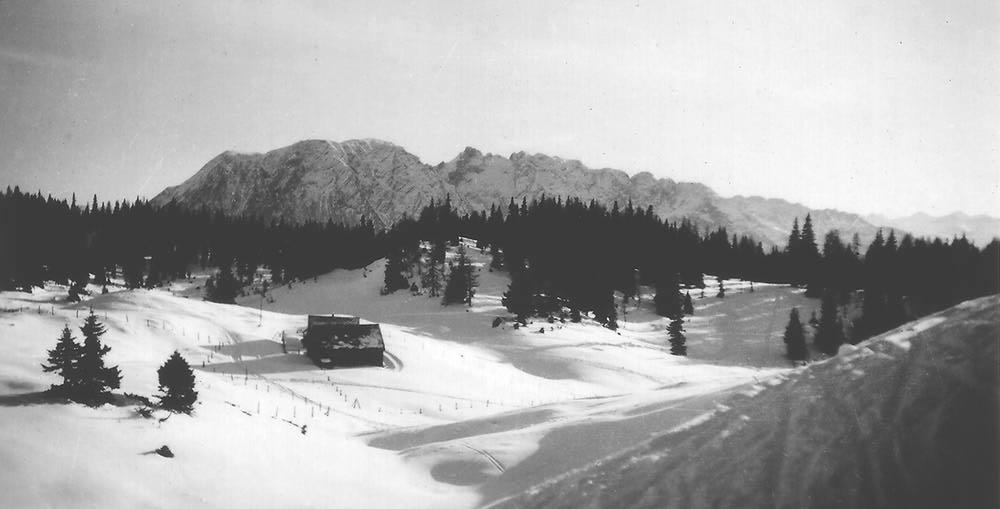 Tauplitzalm, Dezember 1941