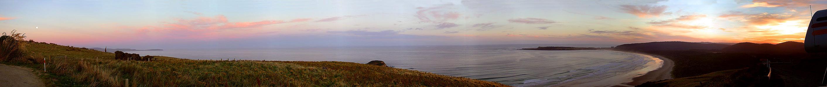 Tautuku Bay Sunset