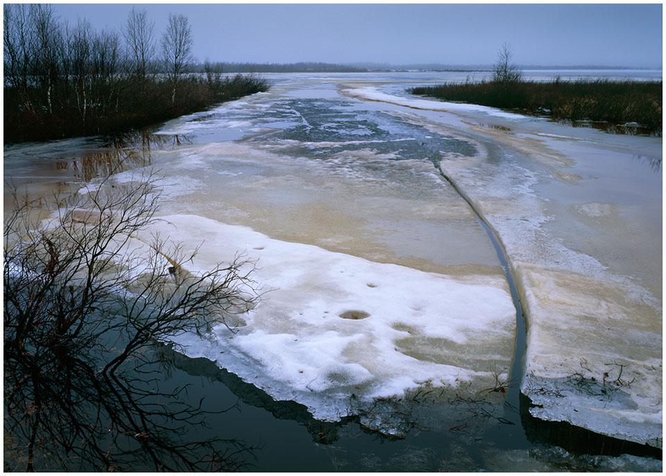 Tauwetter (09) Seeufer in Nordschweden