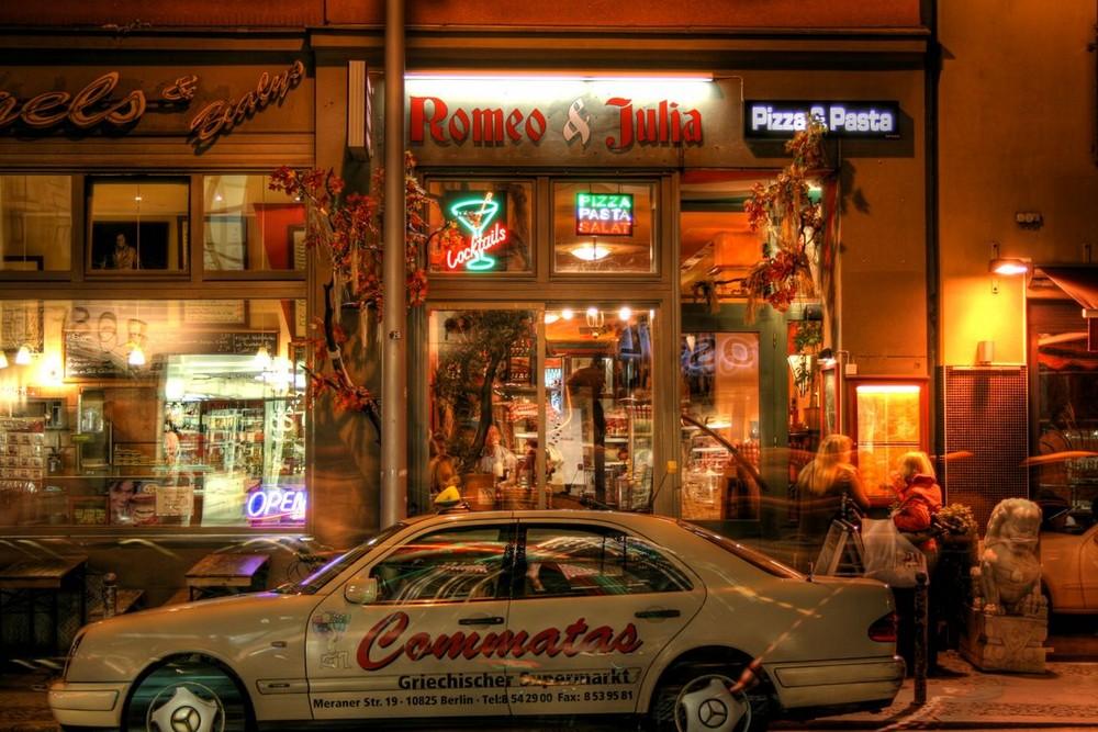Taxi für Romeo und Julia