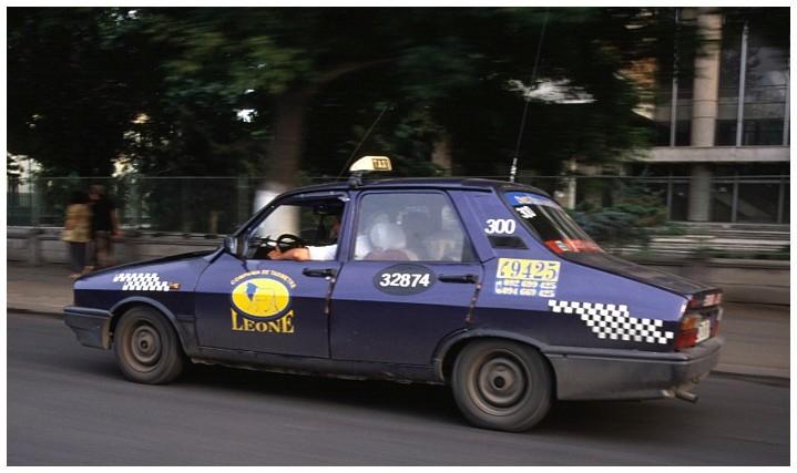 Taxi in Romania (2)