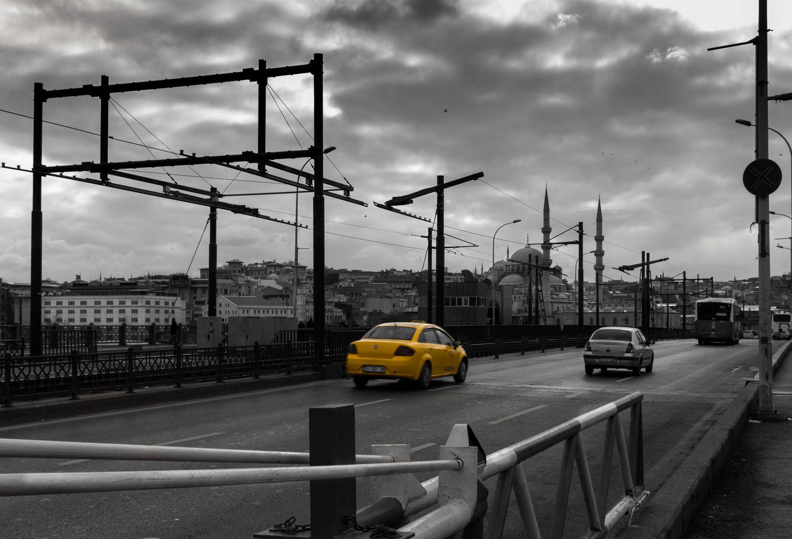 Taxi on the Bridge