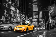 Taxi on Time Square CK