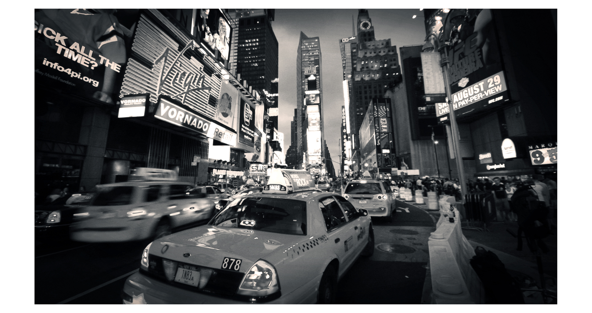 Taxi, please - New York