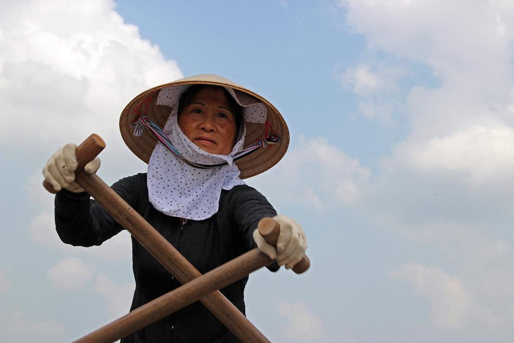 Taxi-Service auf dem Mekong