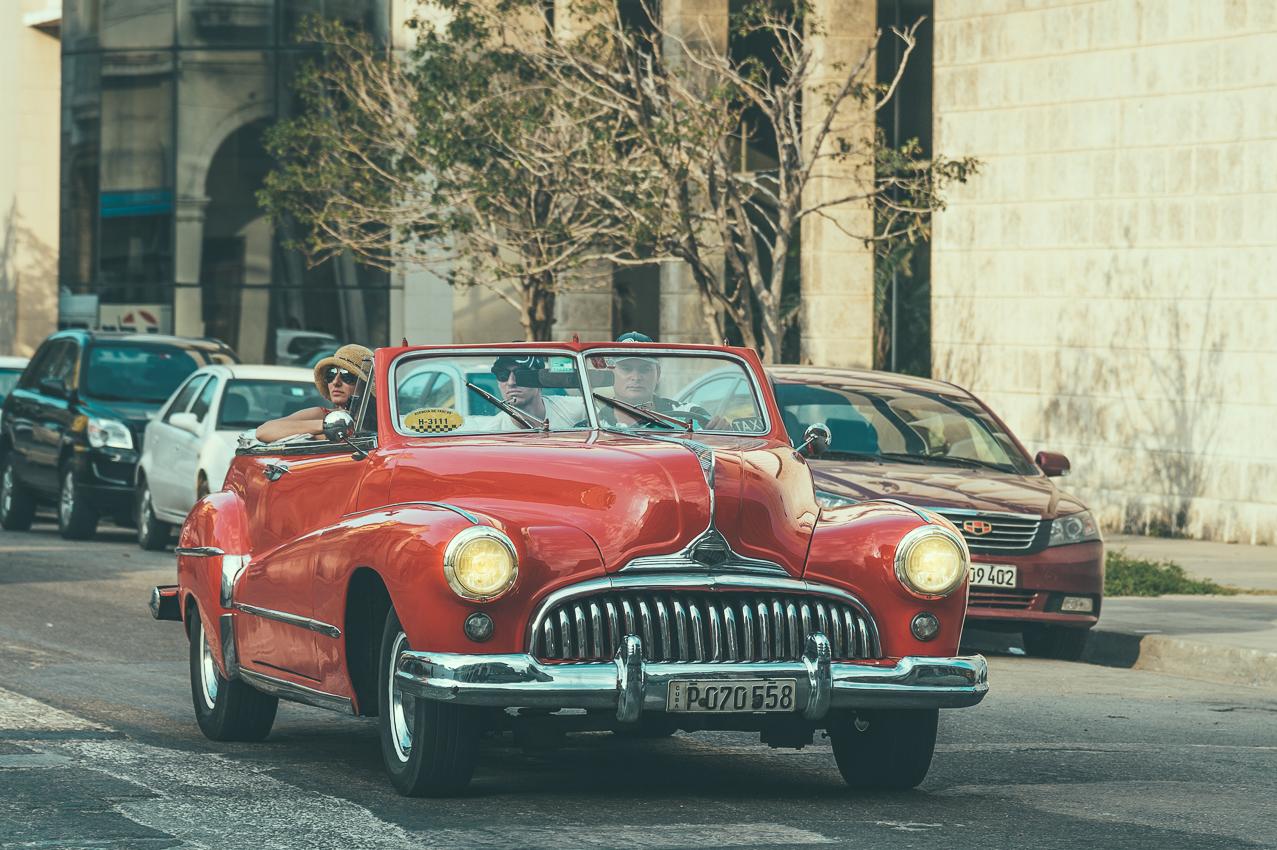 Taxifahrt in Havanna