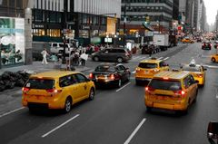 Taxis in New York