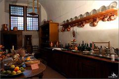 Tchéquie - Cesky Krumlov - Cuisine du château