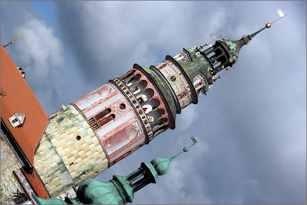 Tchéquie - Cesky Krumlov - Tour du château