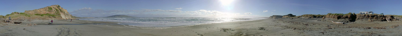 Te Wae Wae Beach - Neuseeland