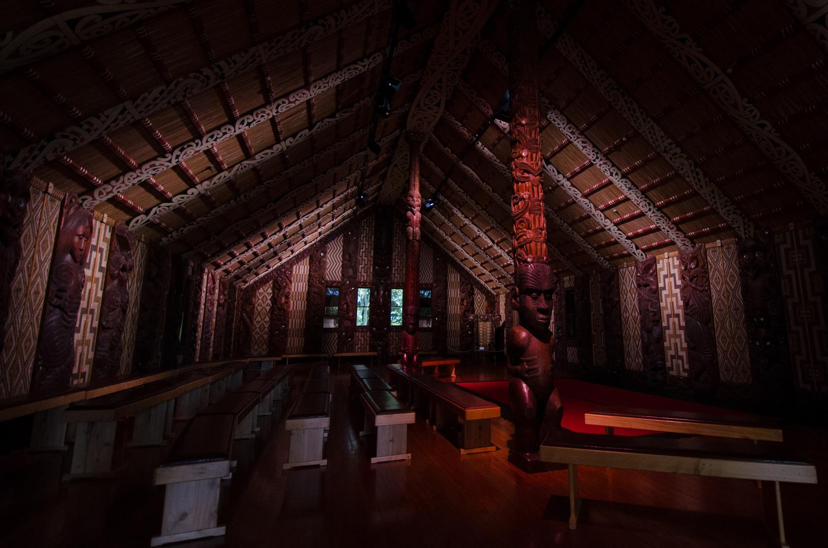 """""""Te Whare Runanga"""" - Waitangi Treaty Grounds"""
