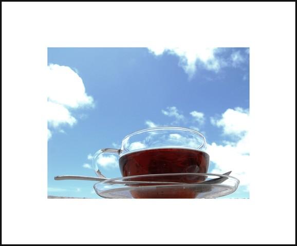 ... tea cup in the open skies ...