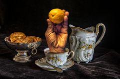 Tea time  Lait ou Citron ?