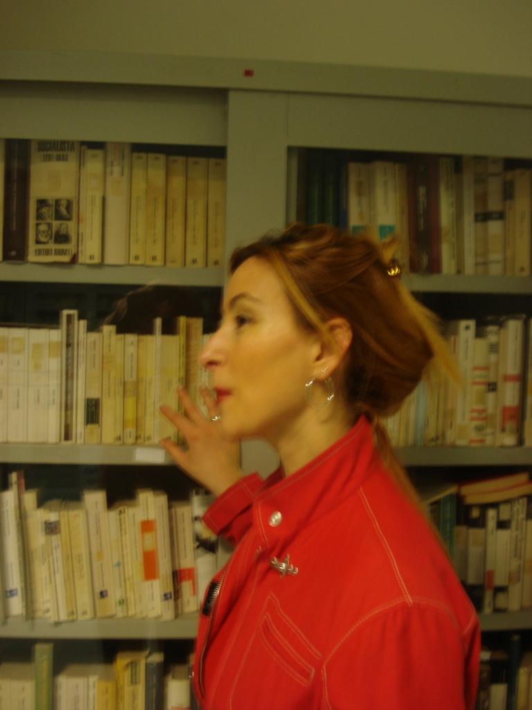 teacher in library school