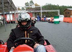 """°°° Team Netzvertrieb mit """"Rennfahrer"""" Uli, Sören und meinereiner im Hubi-Kart °°°"""
